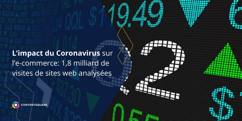 Impact du coronavirus sur la web analytics